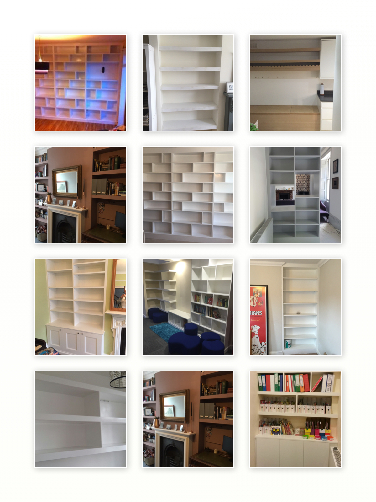 Shelving in South Norwood, West Norwood, Crystal Palace, Honor Oak, Forest Hill and South East London